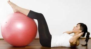 abdominal con fitball